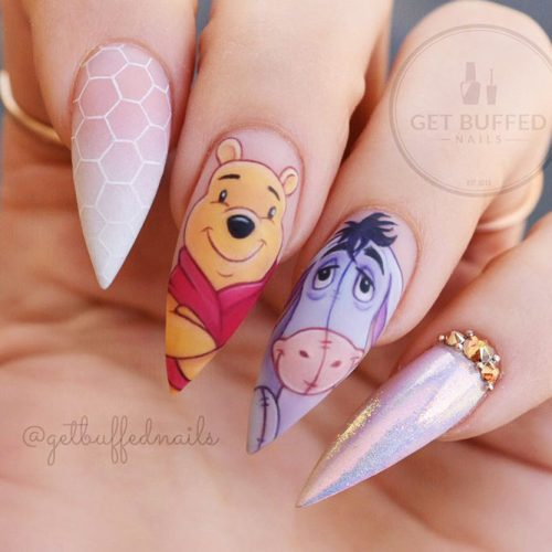 Awesome Pointy Nails Arts Inspired by Your Favorite Movies Picture 3
