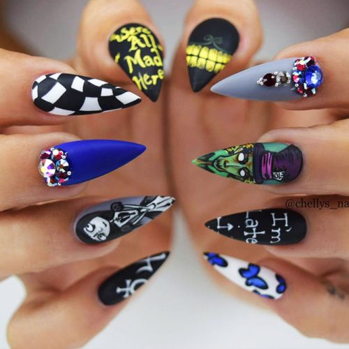 Awesome Pointy Nails Arts Inspired by Your Favorite Movies Picture 1