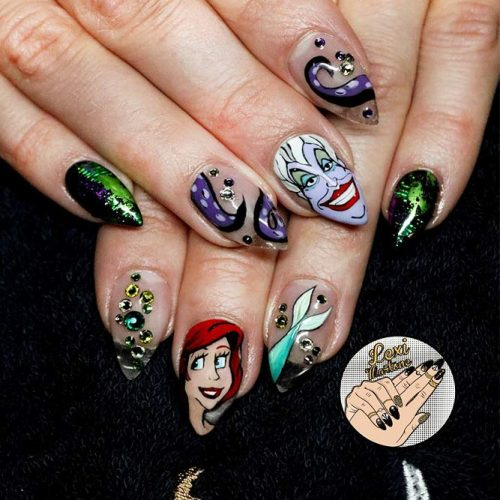 Awesome Pointy Nails Arts Inspired by Your Favorite Movies Picture 5
