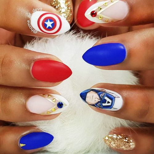 Awesome Pointy Nails Arts Inspired by Your Favorite Movies Picture 4