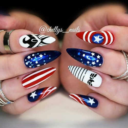 Awesome Pointy Nails Arts Inspired by Your Favorite Movies Picture 2