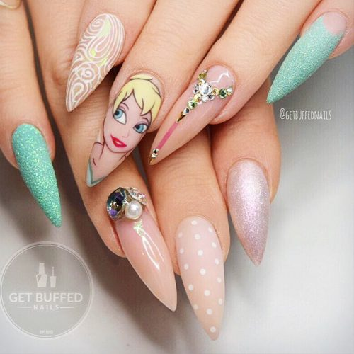 Awesome Pointy Nails Arts Inspired by Your Favorite Movies Picture 6