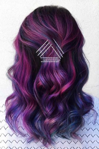 Short and Medium Length Purple Hair Picture 5