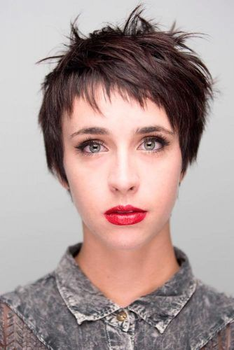Short Hairstyle For Oblong Face #shaggyhairstyle