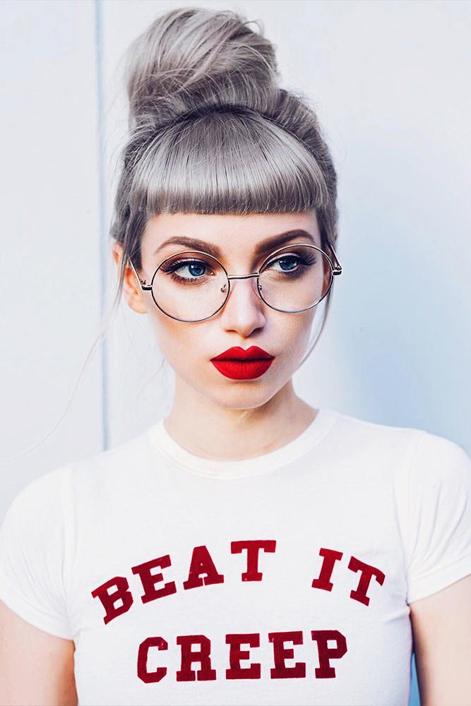 Easy Hairstyles with Silver Hair for a Fabulous Look Picture 4