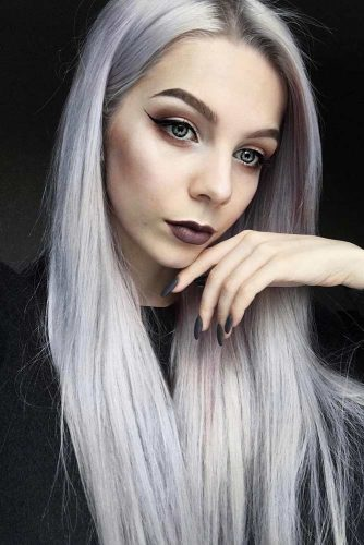Insanely Hot Silver Hair Looks Picture 6