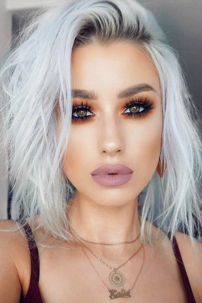 Short and Medium Silver Hair Styles Picture 6