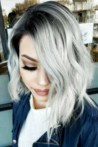 Short and Medium Silver Hair Styles Picture 4