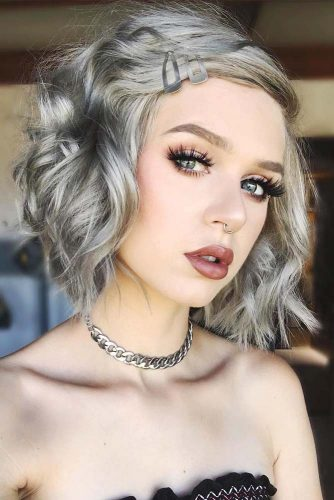 Short and Medium Silver Hair Styles Picture 2