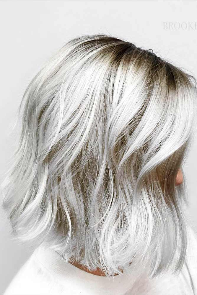 Short and Medium Silver Hair Styles Picture 5