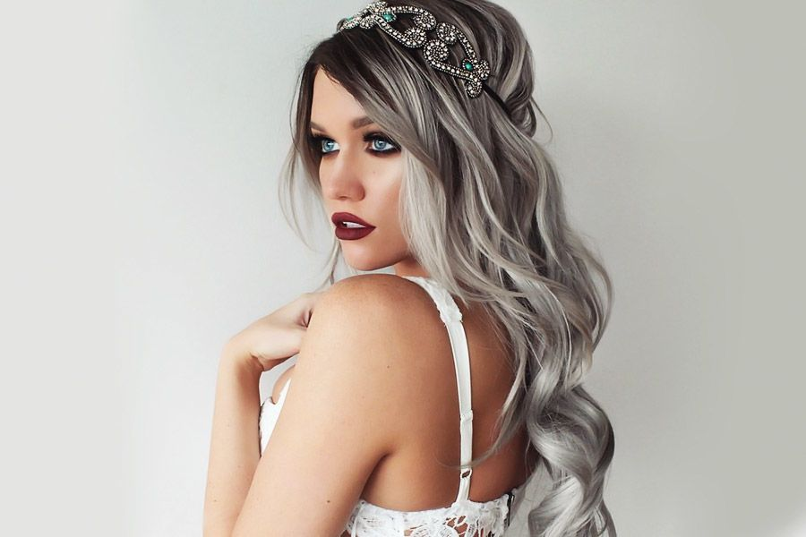 Stunning Silver Hair Looks to Rock
