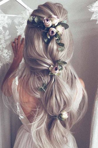 Modern Wedding Hairstyles For Long and Medium Hair picture 3
