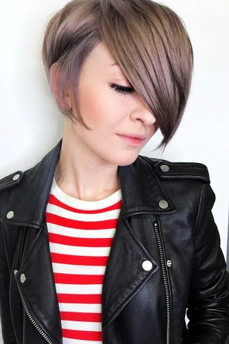 Super Short Bob Hairstyles with Asymmetric Picture 5
