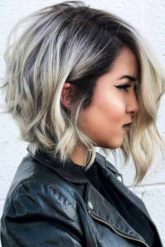 Wavy Asymmetrical Bob Ideas Picture 6