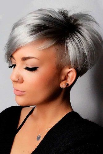 Super Short Ash Bob Hairstyle #ashhair #shorthair