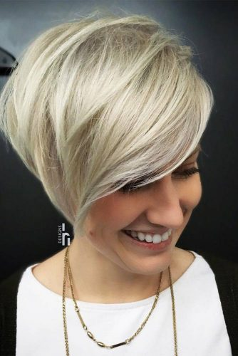 Super Short Bob Hairstyles with Asymmetric Picture 3