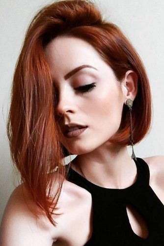 Asymmetrical Bobs Ideas for Straight Hair Picture 6