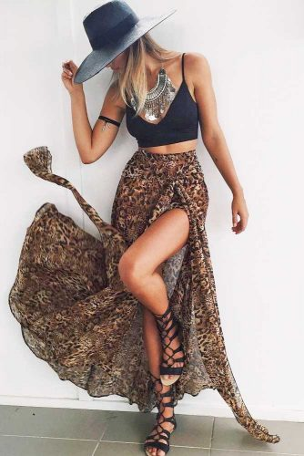 Stylish Boho Outfit Ideas With Maxi Dresses Or Skirts picture 4