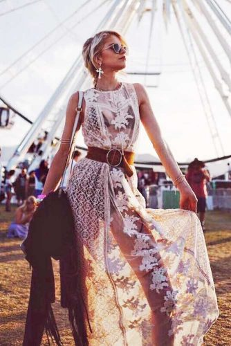 Stylish Boho Outfit Ideas With Maxi Dresses Or Skirts picture 5