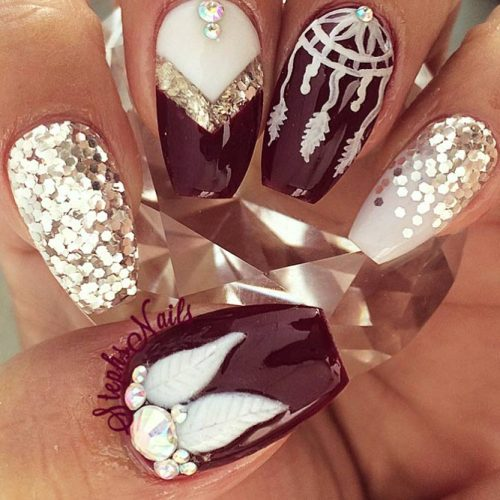 Amazing Dream Catcher Nail Arts Picture 1