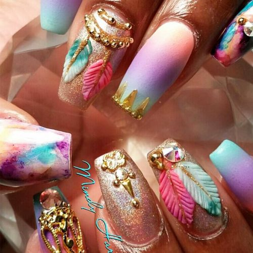 Nail Designs for Dream Catcher Lovers picture3