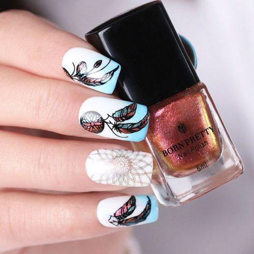 Cute Dream Catcher Nail Designs picture 2