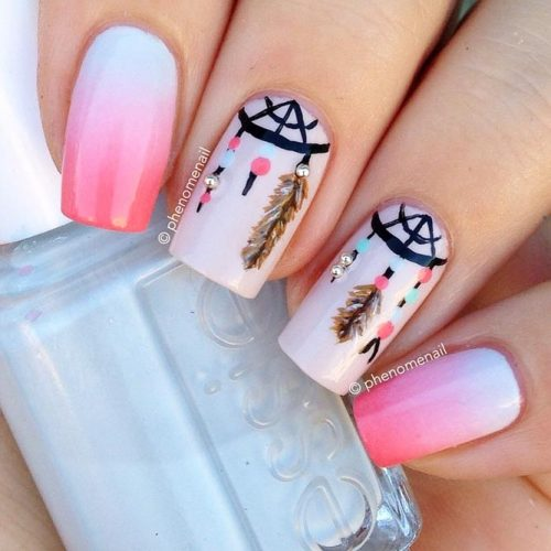Nail Designs for Dream Catcher Lovers picture4
