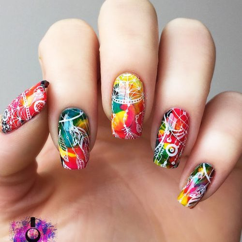 Creative Designs for Nails with Dream Catchers Picture 2