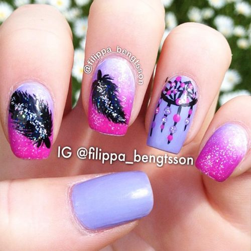 Nail Designs for Dream Cather Lovers Picture 6