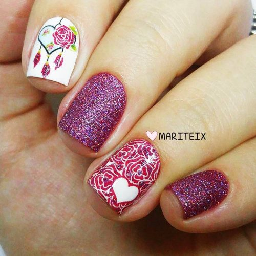 Creative Designs for Nails with Dream Catchers Picture 3