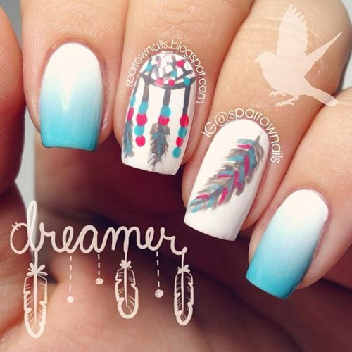 Nail Designs for Dream Catcher Lovers picture1