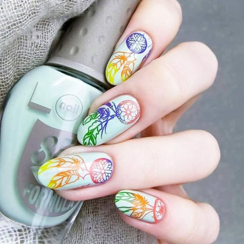 Nail Designs for Dream Cather Lovers Picture 1