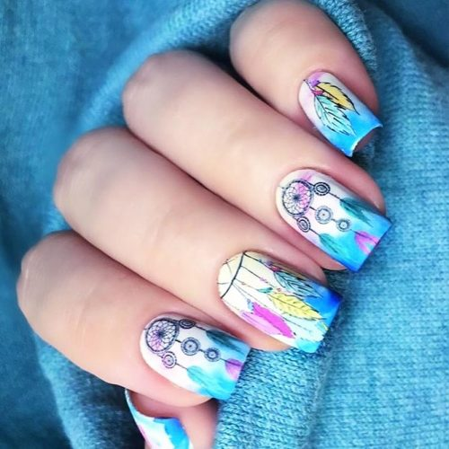 Nail Designs for Dream Cather Lovers Picture 2