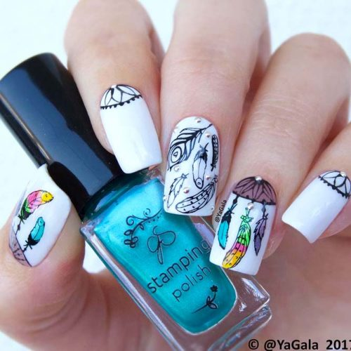 Nail Designs for Dream Catcher Lovers picture6