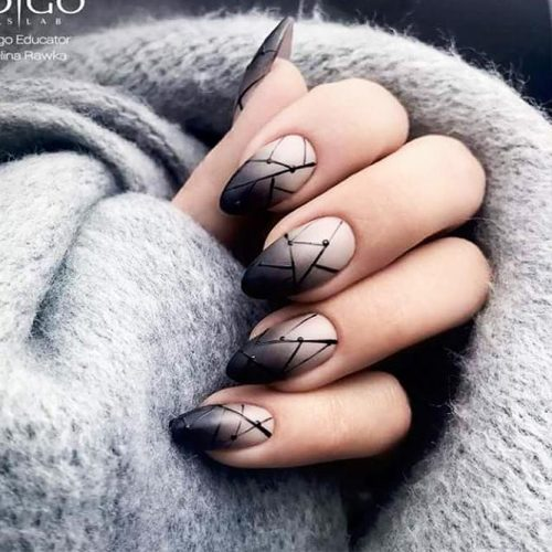 Geometrical Ombre Designs for a Trendy Look Picture 3