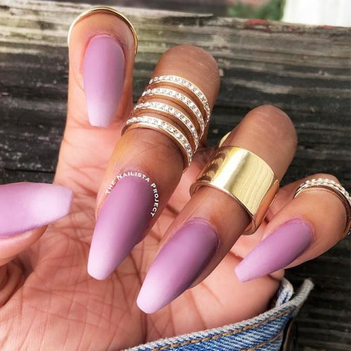 Matte Nail Designs Every Lady Will Like Picture 3