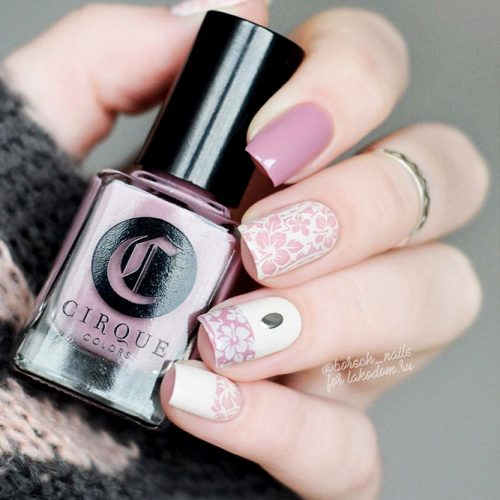 Beautiful Floral Nail Ideas Picture 1