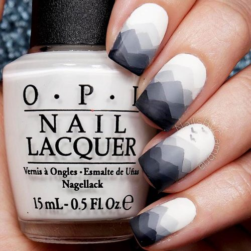 Geometrical Ombre Designs for a Trendy Look Picture 2