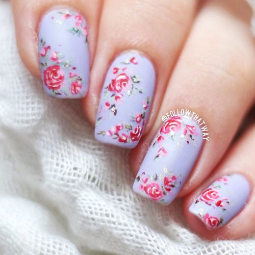 Beautiful Floral Nail Ideas Picture 3