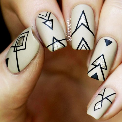 Geometrical Nails Ideas Picture 3
