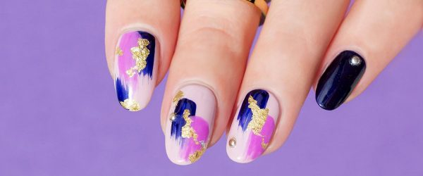 27 Stunning Gold Foil Nail Designs to Make Your Manicure Shine