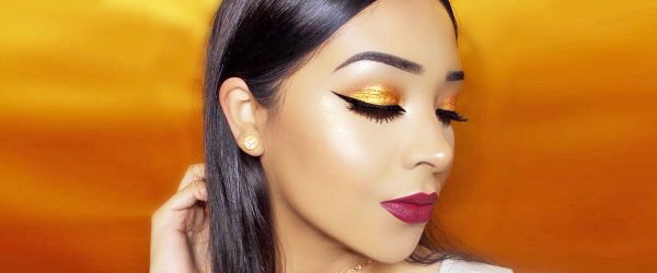 21 Ideas How To Use A Gold Glitter In Makeup