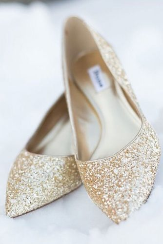 Gold Glitter Shoes Designs picture 1