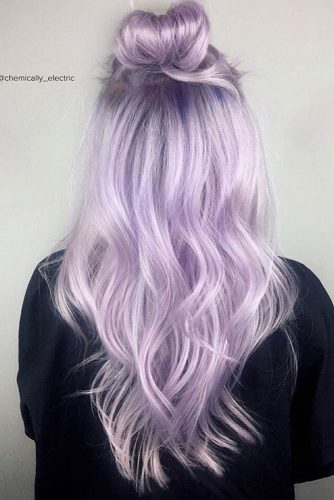 The Lilac Hair Color Ideas picture 2