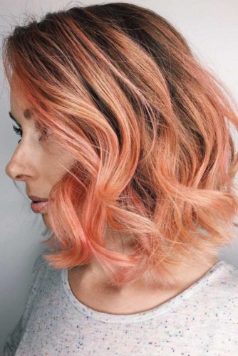 Peach Hair Shades picture 3