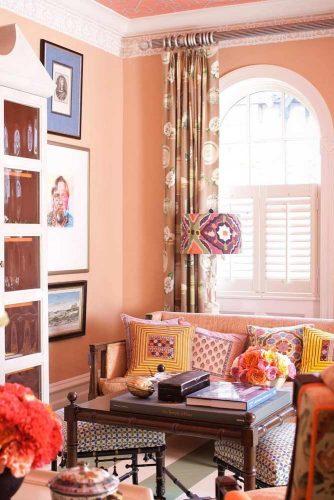 Peach Color Interior Design Ideas picture 2