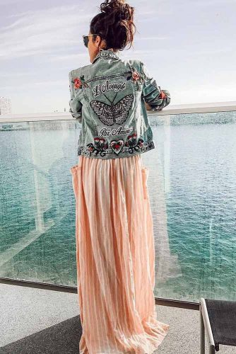 Outfit Ideas With Peach Colour Combinations picture 5