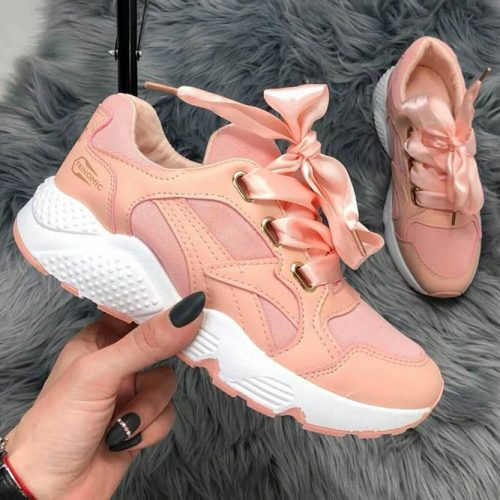 Peach Sneakers Design #trainers #sneakers #runningshoes