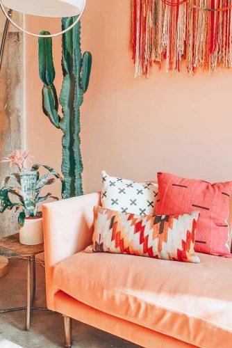 Peach Color Interior Design Ideas picture 1