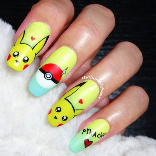 Nails for Pokemon Cartoon Lovers Picture 3